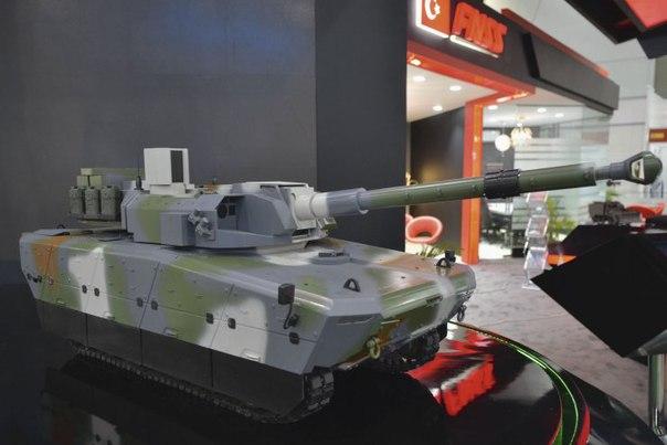 Проект индонезийско-турецкого «среднего» танка MMWT