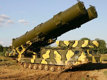 Зенитная ракетная система С-300В на страже неба. ФОТО