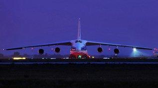 """Ан-124 """"Незаметный"""" герой Сирии."""