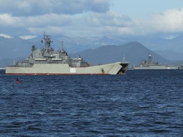 Тихоокеанский флот России. ФОТО