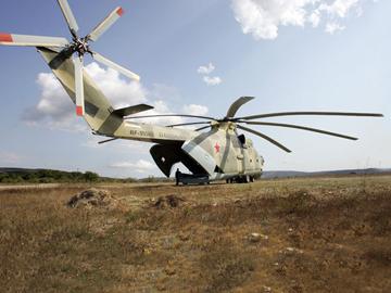 Винтокрылый богатырь Ми-26. ФОТО
