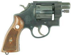 """Бесшумный """"туннельный"""" револьвер Smith & Wesson"""