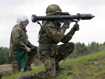 Немецкий противотанковый гранатомет Panzerfaust 3 (Pzf 3)