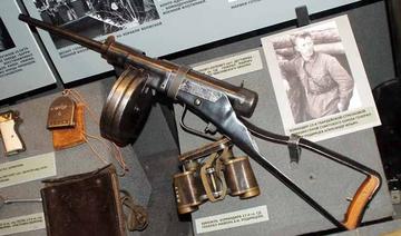 Опытный пистолет-пулемет Зайцева ППЗ