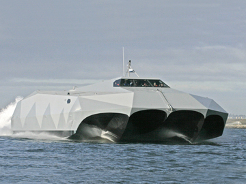 Лодка-невидимка. ФОТО