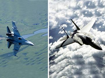 """Су-35 против """"невидимок"""" США. ФОТО"""