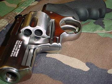 Револьвер против гризли