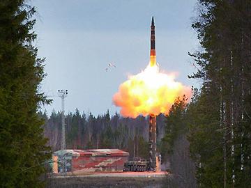 День стратегических ракетных войск России. ФОТО