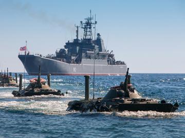 Большие десантные корабли России. ФОТО