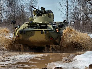 Истребитель танков БТР-82А. ФОТО
