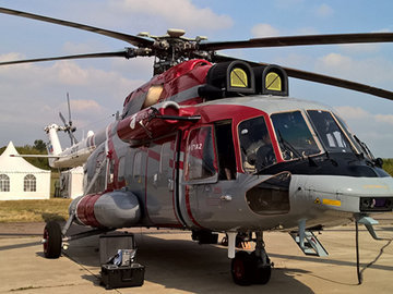 Потомок вертолета Ми-8 испытывают на космический холод