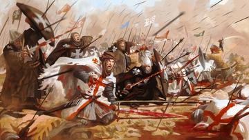 Террор крестоносцев. Видео