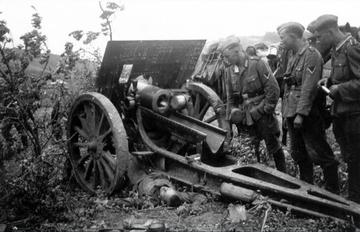 Старший сержант против дивизии Вермахта. Видео