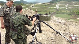 """Крупнокалиберный пулемет НСВ НСВТ 12.7 """"Утес"""""""