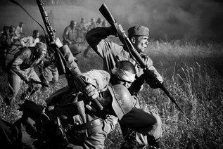 Штыковой бой под Мельниками