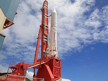 Япония запустила карликовую ракету