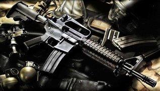 Сравнение М16, AK и винтовки Мосина